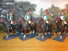 25FP LOT OF 4 CASSANDRA 1/32 LEAD FRENCH IMPERIAL GUARD EMPRESS DRAGOON