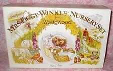 Mrs Tiggy Winkle Nursery Set Bowl Cup & Plate Orig Box Beatrix Potter Wedgewood