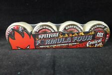 Spitfire Skateboard Wheels Formula Four Conical Full 52mm 101D