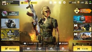 Compte Call of Duty Mobile