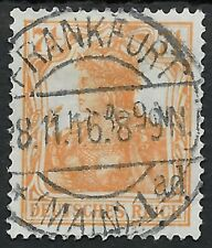 Germania MiNr. 99a gestempelt in FRANKFURT (MAIN) am 28.11.16