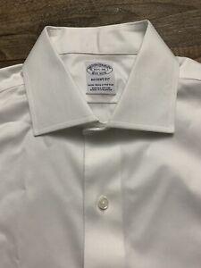 NWOT Brooks Brothers 1818 Regent Fit Men's 15.5 36 Non-Iron White Dress Shirt