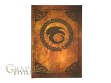 Book of Dragons inspired hardcover cosplay book notebook