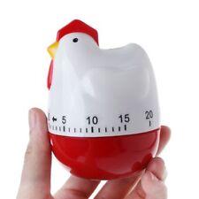 Trendy Chicken Hen Mechanical Clock Timer Kitchen Cooking Countdown Clock Alarm