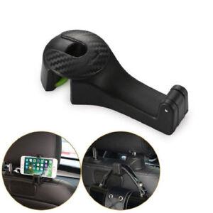 Carpus - 2in1 Multi-functional Car Headrest Hook with Phone Holder