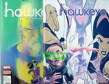 ALL-NEW HAWKEYE #5 & #1 (pre & post SECRET WARS) MARVEL COMICS AVENGERS