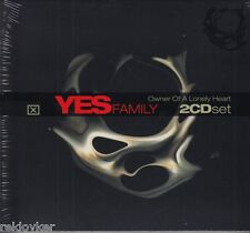 YES / Family - Owner Of A LOnely Heart - Rick Wakeman u.a. (2 CDs, NEU!)