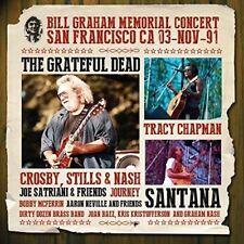 BILL GRAHAM MEMORIAL CONCERT (SANTANA,JOURNEY,THE GRATEFUL DEAD,...) 5 CD NEU