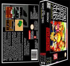 Tecmo Secret of the Stars - SNES Reproduction Art Case/Box No Game.
