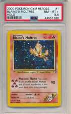 2000 POKEMON GYM HEROES BLAINE'S MOLTRES HOLO #1 PSA NM-MT+ 8.5 C7614