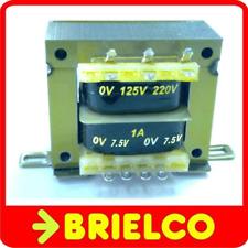 TRANSFORMADOR ALIMENTACION 220VAC A 12V+12V 0.5A 24V 0.25A CHASIS ABIERTO BD8319