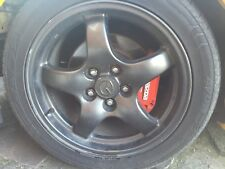 "4x Mazda RX7 RSR 17"" Alloys + 4x Tyres"