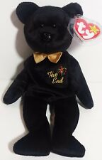 "TY Beanie Babies ""THE END"" Y2K Millennium Teddy Bear MWMTs! RETIRED! GREAT GIFT!"