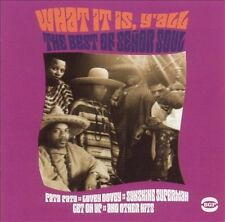 Señor Soul - What It Is Y'All: The Best Of Senor Soul (CD, May-2003, BGP) sealed