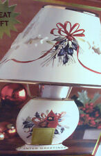 Lenox Christmas Winter Greetings Votive Candle Lamp Nb