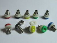 15 pcs 2mm Banana Jack Female Connector Binding Post 5 colors New