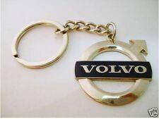 NEW CHROME Metal VOLVO Keyring key chain