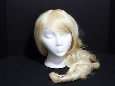"KANEKALON Curly Blonde Heat Friendly Synthetic Wig 31"" Cosplay Drag Costume"