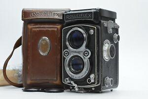 [N.MINT in CASE] Rolleiflex 3.5A MX TLR Tessar 75mm f3.5 T Carl Zeiss Jena JAPAN