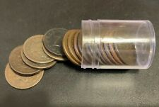 Large Cent roll lot of 17 coins 1830's-40s-50s .99 cent start no reserve 5 days!