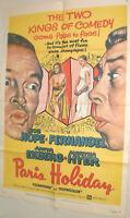 Filmplakat,Plakat,PARIA HOLIDAY,FERNANDEL,,BOB HOPE,ANNITA EKBERG #71