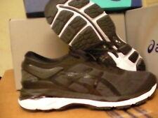 Asics women's gel kayano 24 running shoes black phantom white size 6.5 us