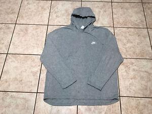 Nike Hoodie Pullover Gray T Shirt Sweatshirt Size XXL Mens