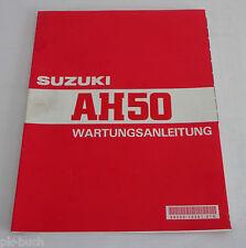 Werkstatthandbuch Suzuki Motorrad Roller AH 50 / AH50 / AH50P, Stand 02/1997