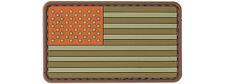UK Arms US Flag PVC Patch (TAN) 24730