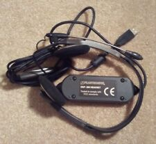Plantronics Dsp-300 Headset With Unused Foam Ear Pads!