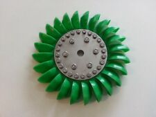 Turgo Wheel - Green Spoon