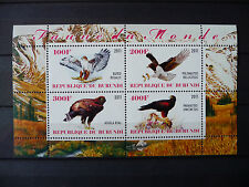 Vögel 003 birds oiseaux Adler eagles 2011 Tiere animals Fauna postfrisch ** MNH