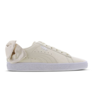 Puma Bow UK Size 4 EUR 37 Women's Shoes Girl Trainers