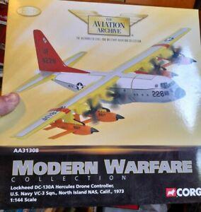 Corgi - AA31308  Lockheed DC-130A Hercules Drone Controller, US Navy, VC-3 Sqn