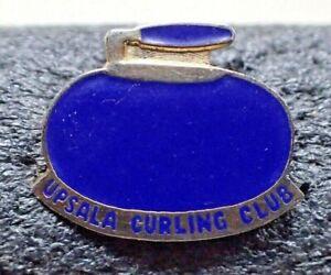 RARE Curling Club Pin - UPSALA Curling Club