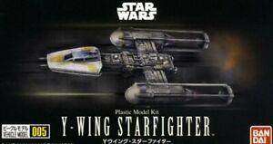 Bandai 209054 Star Wars Plastic Vehicle Model 005 Kit 1/144 Y-Wing Starfighter