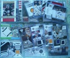 Ryan Miller Game-Used Jersey Rookie Card RC Lot of (22) Buffalo Sabres