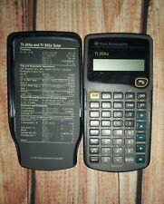 Texas Instruments Black Ti-30Xa And Ti-30Xa Solar All In One Calculator