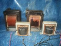 Set Original 5218U9 Saba Tubeamp Power & Output Transformer EL84