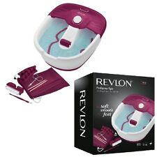 Revlon Relaxing Bubbling Massage Pediprep Foot Spa Bath with Pedicure Set New