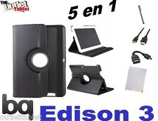 """PACK 5 IN 1 COVER SWIVEL FOR TABLET BQ EDISON 3 QUAD CORE 10.1"""" + ACCESSORIES"""
