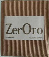 """BOX 7CD-RENATO ZERO """"ZERORO""""EDIZIONE LIMITATA ORO 24K-NUOVO ,MAI ASCOLTATO-"""