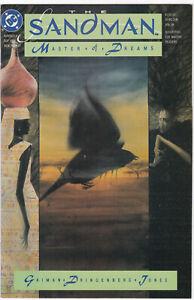 SANDMAN MASTER OF DREAMS #9 NMINT- 9.2 1ST APP of NADA VERTIGO DC COMICS 1989