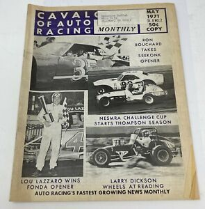 Cavalcade of Auto Racing May 1971 Vol. 8 No. 2