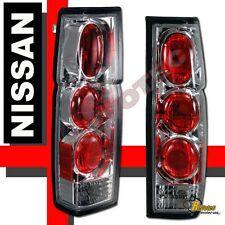 Chrome Tail Lights For 1986-1997 Nissan Hardbody Pickup RH & LH 92 93 94 95 96