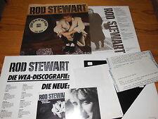 ROD STEWART - EVERY BEAT OF MY HEART / GERMANY-LP 1986 & PROMO-HEFT, PHOTO