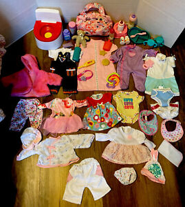 Clothes And Accessories Lot For Bitty Baby & Similar Sized Dolls