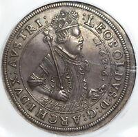 1626 NGC XF 45 Austria Taler Hall Mint Silver Thaler Dav-3337 Coin (20021505C)