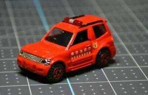 HTF Tomica Mitsubishi Pajero Tokyo Fire Dept in excellent condition No. 30