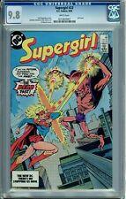 SUPERGIRL 23 CGC 9.8 WP Last Issue RARE HIGH GRADE FEW on CENSUS DC COMICS 1984